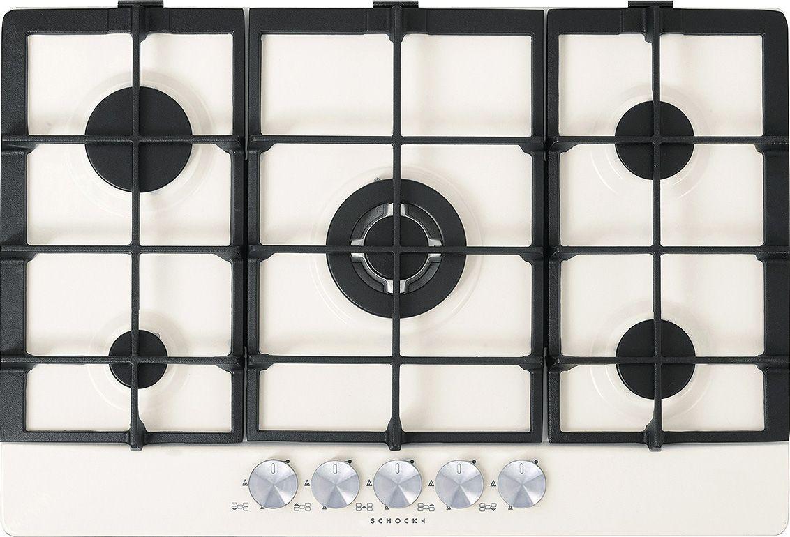 Primus 75 BIANCO ALPINA, Prodotti, Piani cottura e accessori - Schock