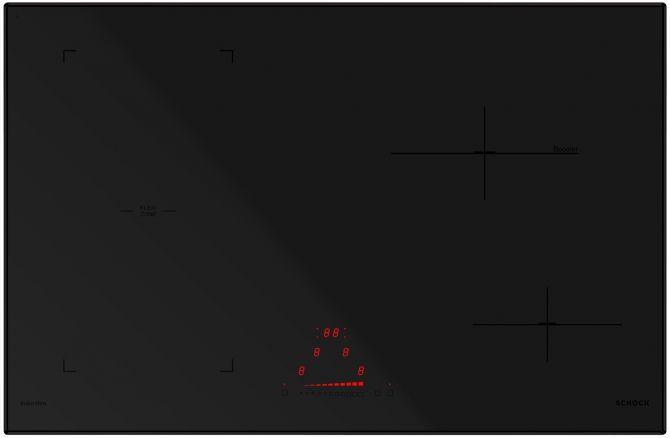 Induzione 78 BRIDGE NERO OPACO  Cod. STIB84BKM