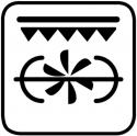 Doppio grill ventilato + girarrosto