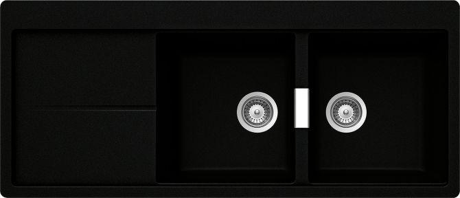 Horizont D200 NERO PURO  Cod. HOND200A84
