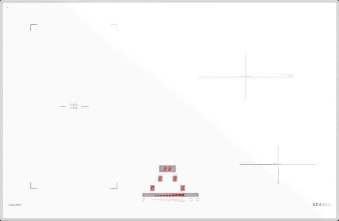 Induzione 78 BRIDGE BIANCO OPACO  Cod. STIB84WHM