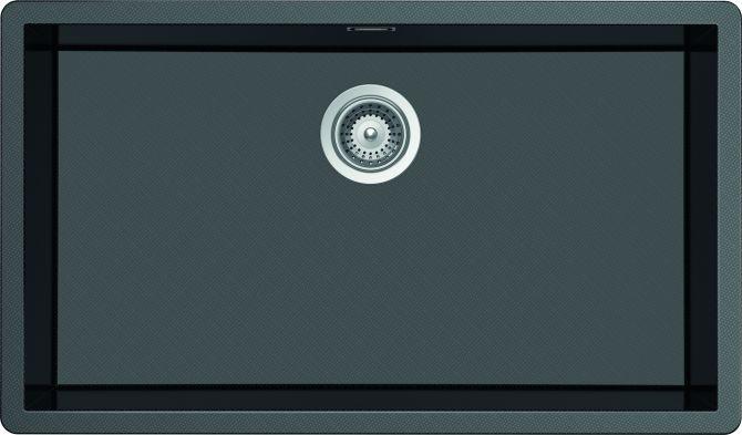 Vasche CARBON N100 XL CARBONIO LUCIDO  Cod. CARN100XLG