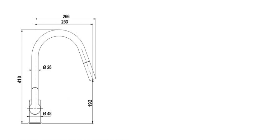 Disegno tecnico AQUAMOON BIANCO ASSOLUTO   Cod. SXMOON01