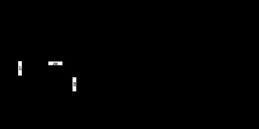 Disegno tecnico SC520 NERO PURO  Cod. 55512084