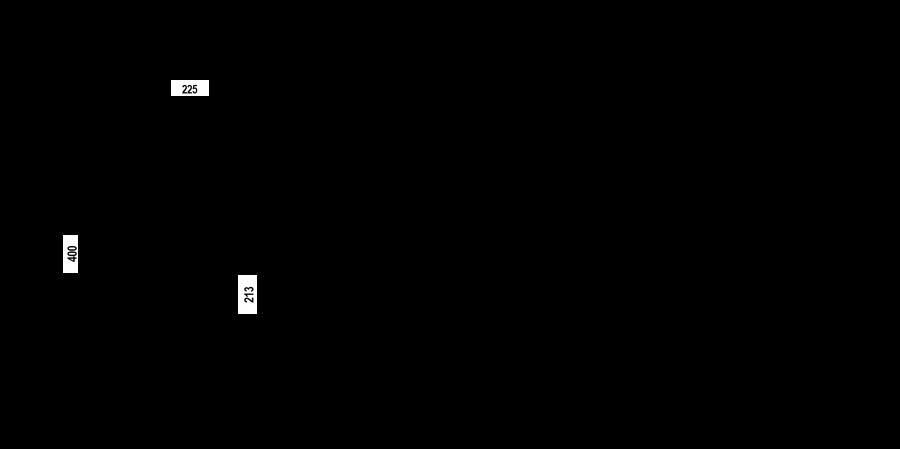 Disegno tecnico KAVUS CON DOCCIA ACCIAIO INOX MASSICCIO  Cod. 559120EDM