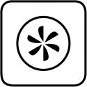 Resistenza circolare + ventola